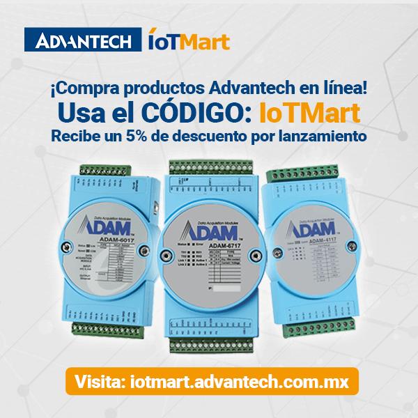 Usa el código IoTMart y recibe un 5% de descuento por lanzamiento