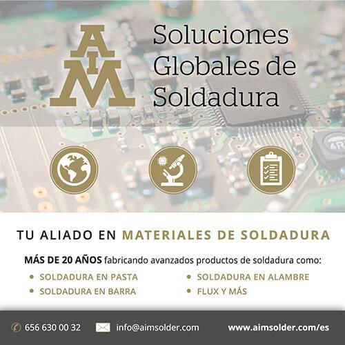 Tu aliado en materiales de soldadura | AIM Solder