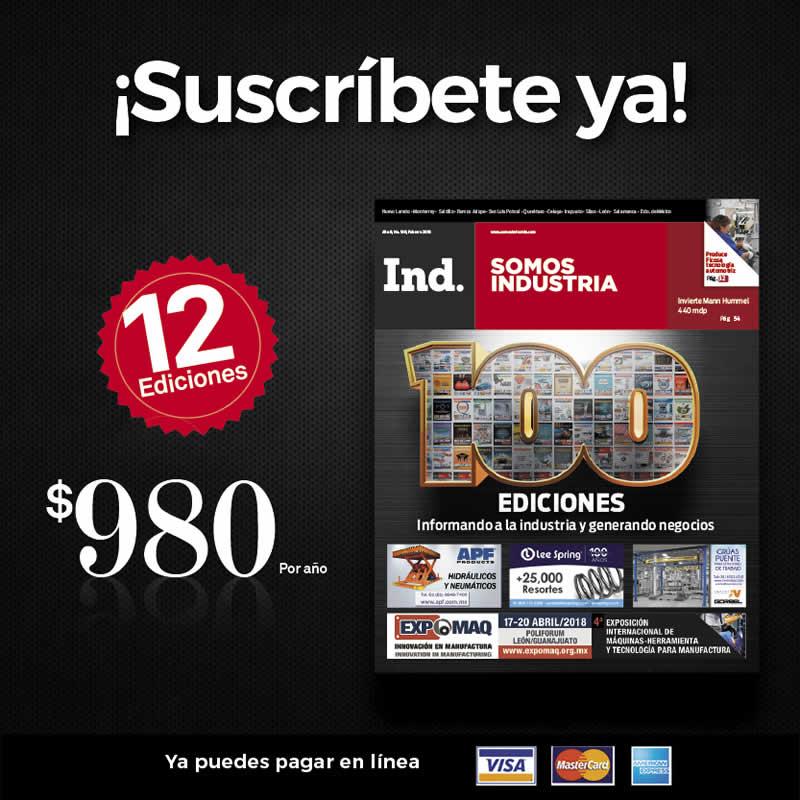 Suscríbete a nuestra revista por solo $1,299 por año