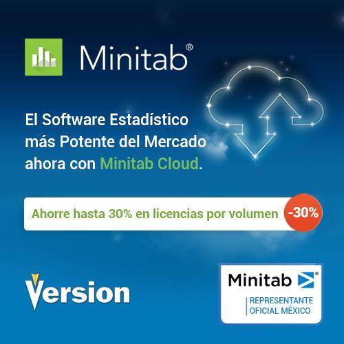 El software estadístico más potente del mercado ahora con Minitab Cloud | Minitab