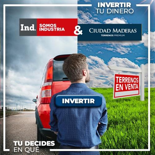Invierte tu dinero, tú decides en que - Ciudad Maderas Terrenos Premium