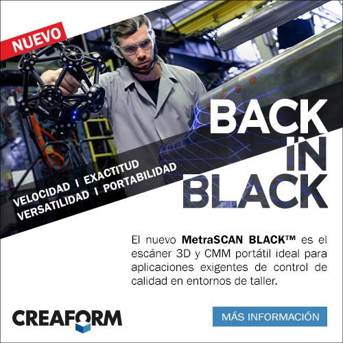 Creaform  - Nuevo MetraSCAN Black