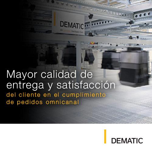 Mayor calidad de entrega y satisfacción - Dematic