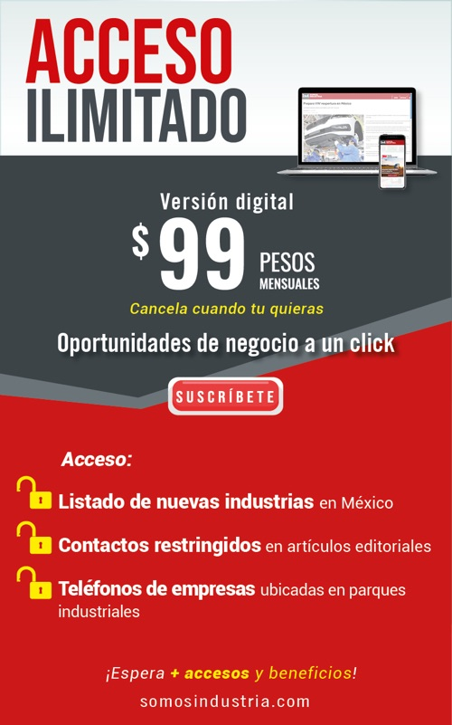 Adquiere tu Suscripción Digital Somos Industria y aprovecha los beneficios