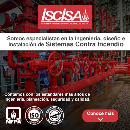 Especialistas en ingeniería, diseño e instalación de sistemas contra incendio - Iscisa
