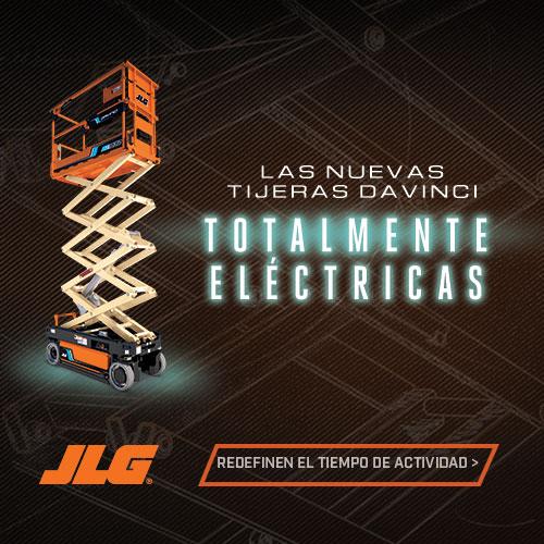 Las nuevas tijeras DAVINCI totalmente eléctricas - JLG
