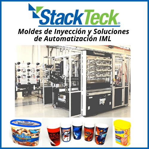 Moldes de Inyección y soluciones de Automatización IML - StackTeck