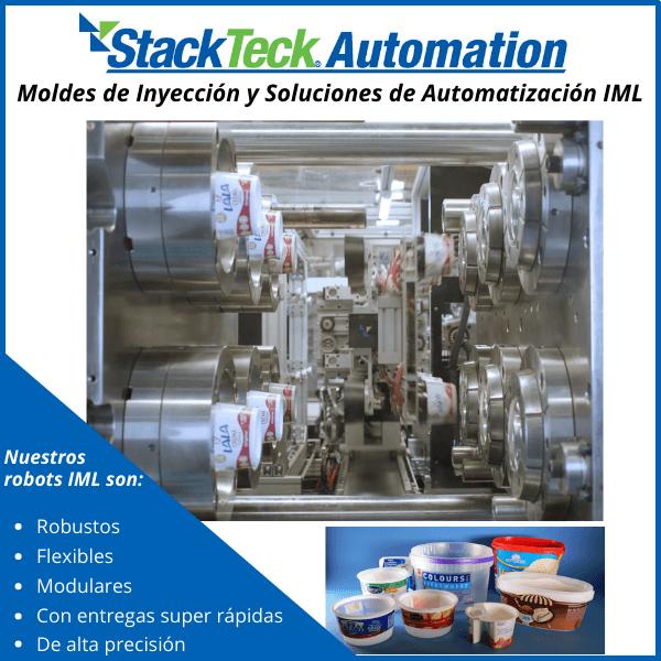 StackTeck Automation - Moldes de Inyección y soluciones de Automatización IML