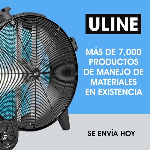 ULINE - Mas de 7000 productos de manejo de materiales en existencia, se envía hoy