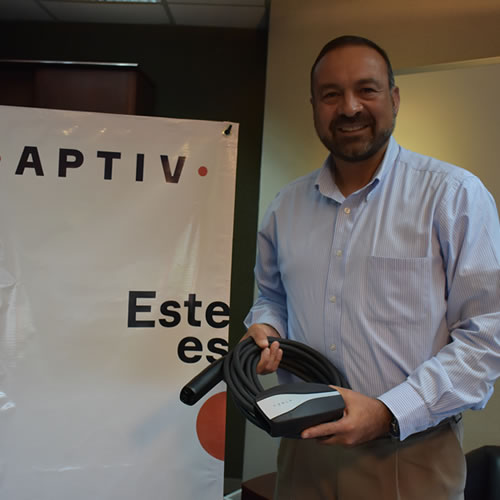 Waldo Rodríguez, Saltillo Cluster Manager Connection Systems de Aptiv.