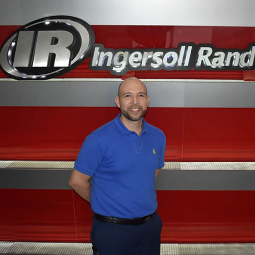 Marco Franco, Category Manager en Ingersoll Rand.
