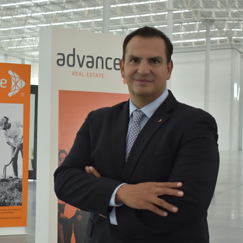 Hugo Mandujano, director comercial Advance Real Estate.